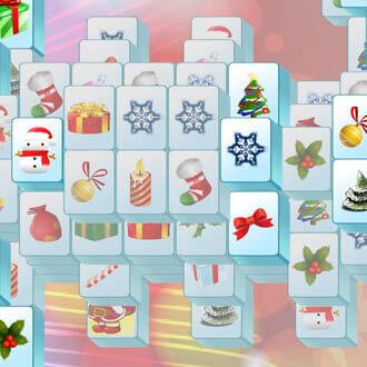 free santa mahjongg