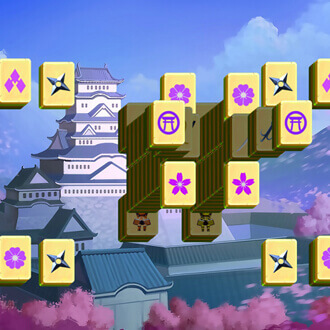 Japan Castle Mahjong game