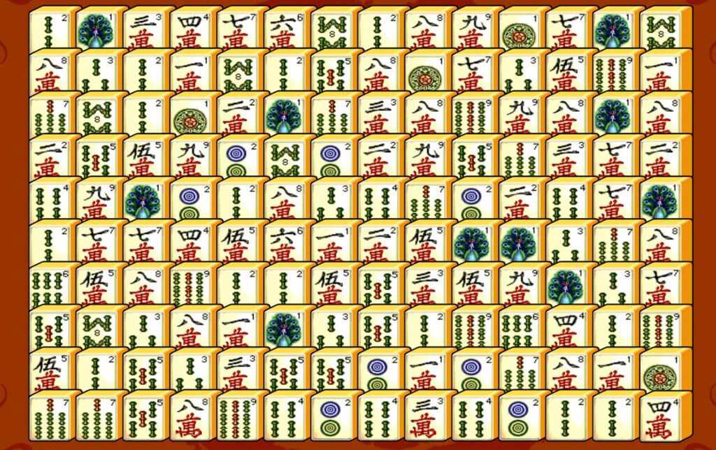 Mah Jong Connect game