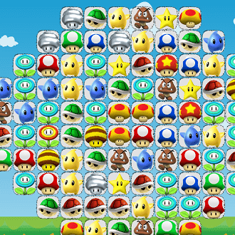 Super Mario Connect Mahjong